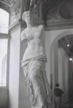 La estatua griega